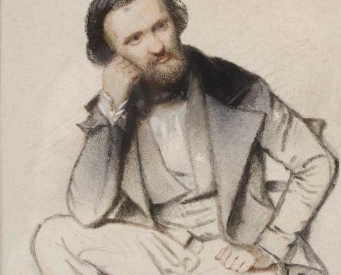 Portrait de Jacques Guiaud par C. Sardou