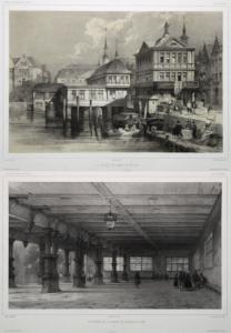 lithographie Hambourg ebay