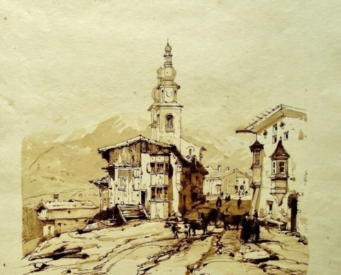 Jacques Guiaud - Paysage des Vosges